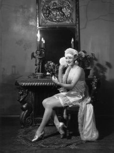 A model wearing beautiful Celanese undergarments, 1928. #vintage #fashion #1920s