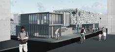 Katılımcı (atölye kent mimarlık), Caferağa Spor ve Kültür Merkezi Mimari Proje Yarışması