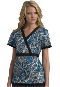 Med Couture Scrubs blend fashion and function, featuring form-fitting materials and extra pockets. Order these amazing scrubs online from Scrubs and Beyond! Med Couture Scrubs, Cute Scrubs, Scrubs Uniform, Nursing Clothes, Medical Scrubs, Scrub Tops, Work Attire, Wrap Dress, Natural Hair