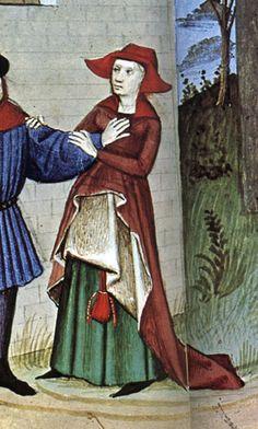 Boccicio's Decameron, detail.