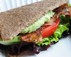Raw Recipes  (BLT-made with Eggplant)
