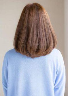 34+ Trendy Ideas hair cuts v shape medium colour #hair