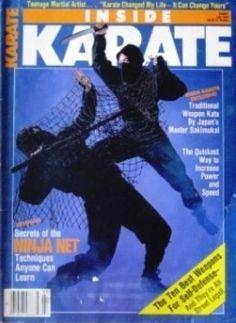 7/86 INSIDE KARATE NINJA MASTER SAKIMUKAI BLACK BELT KUNG FU  MARTIAL ARTS