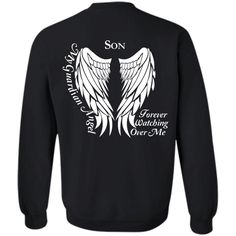 Son My Guardian A...   http://www.calikays.com/products/son-my-gaurdian-angel-forever-watching-over-me-g180-gildan-crewneck-pullover-sweatshirt-8-oz?utm_campaign=social_autopilot&utm_source=pin&utm_medium=pin