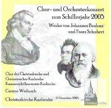 Concert Schillerjahr Stuttgart 2005 Friedrich Von Schiller, Chor, Johannes, Kirchen, Memes, Orchestra, Concert, Karlsruhe, Stuttgart
