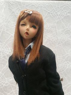 ボンクラーズ総長(@compon)さん   Twitter Lucky Star, Anime Dolls, Ooak Dolls, Barbie Dolls, Smart Doll, Figure Model, Cute Dolls, Toy Boxes, Doll Face