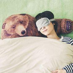 Bear Hug Pillows