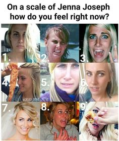 I either feel 1 or 8 all the time