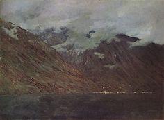 Исаак Ильич Левитан » Малоизвестные картины, пейзажи » Озеро Комо