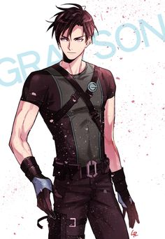 GRAYSON. Agent 37