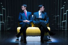 Matt Smith (Patrick Bateman) and Jonathan Bailey (Tim Price). - Manuel Harlan