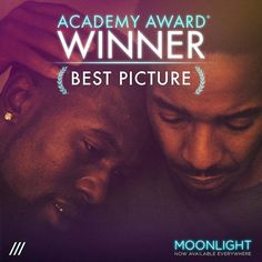 Moonlight: Academy Award Winner for Best Picture 2017 also nominated for cinematography Winner for Supporting Actor Mahershali Ali Naiome Harris nominated for best supporting actress