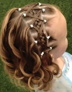 New Wedding Hairstyles For Kids Flower Girls Toddler Hair Ideas Girls Hairdos, Baby Girl Hairstyles, Princess Hairstyles, Pretty Hairstyles, Braided Hairstyles, Children Hairstyles, Cute Kids Hairstyles, Little Girl Wedding Hairstyles, Hairstyle For Kids
