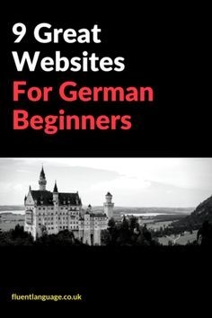 Inspiration & Support for new language learners who are looking for German courses German websites German soap operas etc Study German, Learn German, German English, German Grammar, German Words, Great Websites, Learning Websites, Spanish Activities, Teaching Spanish