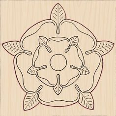 The Tudor Rose is the emblem of the Tudor monarchs who ruled England from 1485 to 1603. Although these monarchs included the likes of Henry VIII and Bloody Mary, the Tudor rose is actually a symbol of peace and reconciliation. Incorporating the white