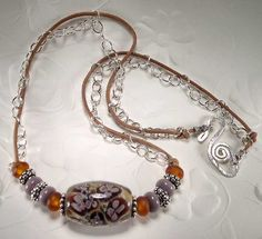 5 Fish Designs - Authentic Geneva Watch, highlighted with Translucent Agate, Freshwater Pearls and Custom Wire Wrapping by Krista Tseu