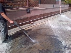 high pressure cleaning, pressure clean, clean paving, clean oil, oil stains, oil spills, pressure clean, exterior cleaning, building cleaning Roof Insulation, Hotel Kitchen, Building A Pool, Pressure Washing, Cleaning Materials, Roof Repair, Heated Pool, Heat Pump, Patio Roof