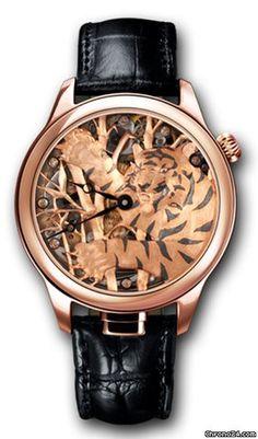 Nivrel Répétition Annuelle/ Tiger $48,209 #leopard #leo #watches #trend #animalprint