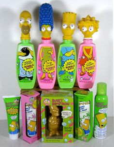 Simpsons bath products