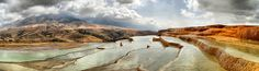 Fall in Love With Badab-e Surt, Iran's Terraced Hot Springs