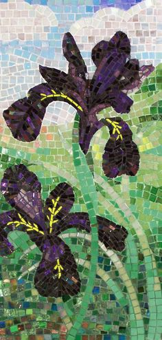 italian smalti mosaic by Lee Ann Petropoulos