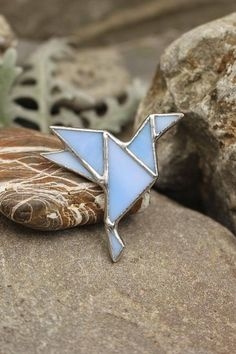 Origami Dove Peace Symbol Flying Bird Little Origami Dove Pin