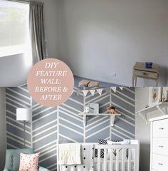 Beau Monde Mama: DIY - FEATURE WALL