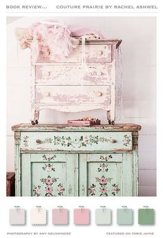Shabby Chic ● Color Palette, Couture Prairie by Rachel Ashwell