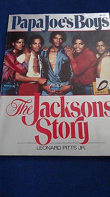 """Papa Joe's Boys"" - The Jacksons Story Michael Jackson 1983  Rare Vintage Book  - http://www.michael-jackson-memorabilia.com/?p=7829"