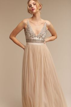 Wedding dress for the beach - alternative. Brisa Dress from @BHLDN