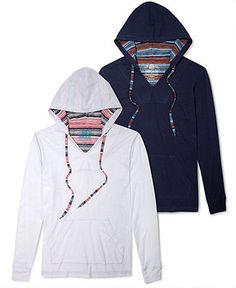 American Rag Shirt, Tribal Hoodie - Hoodies & Fleece - Men - Macy's