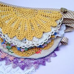 Crochet bunting perfect for garden parties and summer weddings!