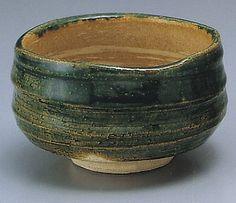 Oribe tea bowl -- Visit the image link more details.