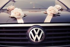 VW Wedding Ride: awe totally perfect with my car <3