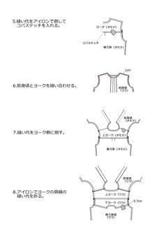 レディースシャツ・ブラウスの無料型紙と作り方 | ヘルカ + ハンドメイド Shirt Blouses, Shirts, Handmade, Hand Made, Craft, Shirt, Top, Dress Shirt, Tees