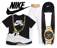 """✨NIKE✨"" by amanda100412 ❤ liked on Polyvore featuring NIKE, Fremada, Nike Golf and Michael Kors"