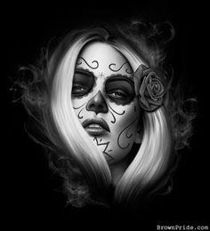 Day of the Dead Artwork by SPIDER / Mi Familia Tattoos