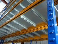 Longspan Shelving with galvanised decks Longspan Shelving, Shelving Systems, Hair Tool Storage, Racking System, Hair Tools, Decks, Stairs, Design, Home Decor