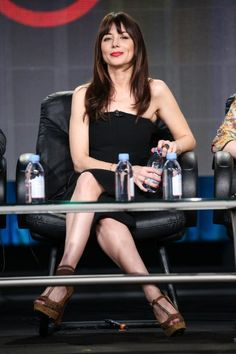 Natasha Leggero at the Another Period TCA panel 2015 Hot Actresses, Beautiful Actresses, Natasha Leggero, Another Period, Morena Baccarin, Mane Event, Tv Girls, Celebs, Celebrities