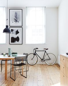 The Melbourne CBD apartment of Dan Honey, Paul Fuog and their two year old daughter Frances.  Photo by Sean Fennessy for thedesignfiles.net | The best scandinavian home design ideas! See more inspiring images on our boards at: http://www.pinterest.com/homedsgnideas/island-home-design-ideas/