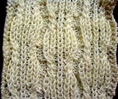 Free Sewing Patterns, Crochet Patterns, Knitting Patterns and Tatting Patterns Cable Knitting Patterns, Knitting Stiches, Knitting Videos, Knitting Charts, Knit Patterns, Knitting Projects, Stitch Patterns, Tatting Patterns, Knit Crochet