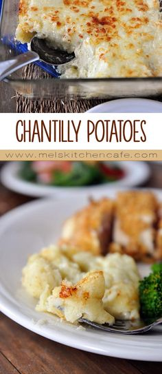 Light, golden, cheesy and tender, these potatoes are unusual in the making but absolutely delicious in the eating.Chantilly Potatoes