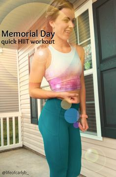 You should ENJOY your long holiday weekend! And feel better doing so with this ONE WEIGHT, quick HIIT workout Weekend Workout, Long Holiday, Hiit, Memorial Day, Feel Better, That Look, Exercise, Memories, Fitness