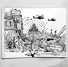 Doodle on Nepal Earthquake, 2015