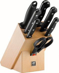 Zwilling 34931-002-0 Twin Chef Messerblock 8-teilig, natur: Amazon.de: Küche & Haushalt