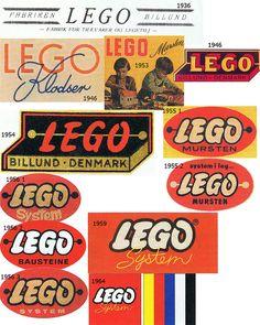 Lego Logo 1936-1964. My kids had these.