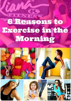 6 REASONS TO WORKOUT FIRST THING IN THE MORNING! KIANA TOM KIANA'S FLEX APPEAL & FIT MOM TV