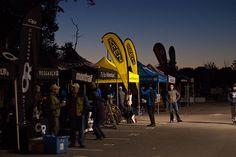 vendor fair set up at the start/finish line #RCrun