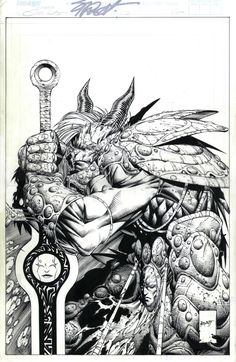Soul Saga 3 Cover, in the February Image Comics Comic Art Sketchbook Comic Book Artists, Comic Artist, Comic Books Art, Saga Comic, Soul Saga, Epic Art, Amazing Art, Comic Drawing, Image Comics