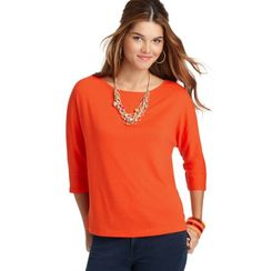 Tie Back orange top (raisin color might work for maroon) & the hokie bangle is perfect!